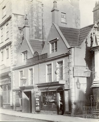 Saracen's Head, 42, Broad Street, Bath c.1890