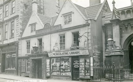 Saracen's Head, 42, Broad Street, Bath c.1912