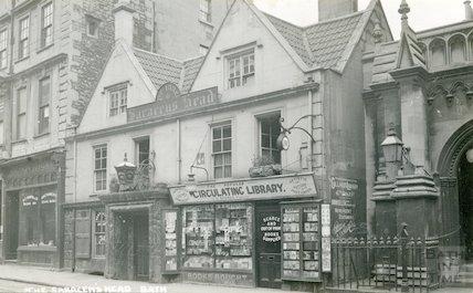 Saracen's Head, 42, Broad Street, Bath c.1912