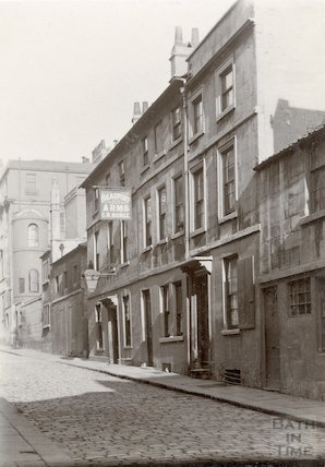 The Beaufort Arms, Princes Street, Bath c.1900