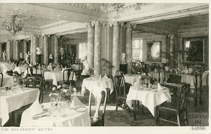 The Dining Room, The Pulteney Hotel 1937