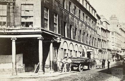 White Hart Inn, Stall Street, c.1867
