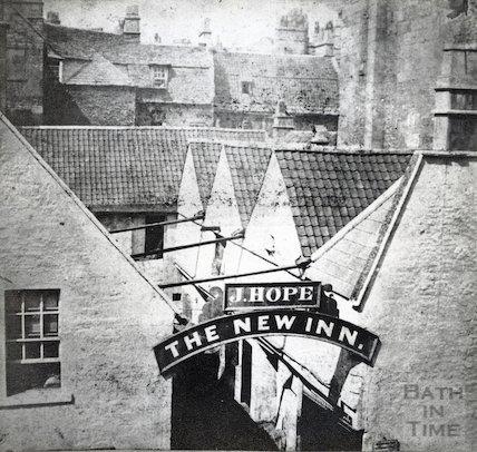 New Inn, Southgate Street, c.1849