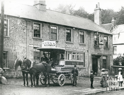 Crown and Anchor, Weston, 1890s