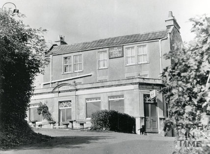 The Claremont Arms, Claremont Buildings, off Fairfield Road, Bath 1967
