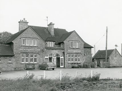 The Blathwayt Arms, Lansdown, July, 1972