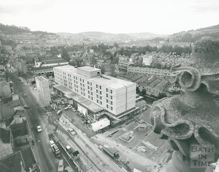 Beaufort Hotel, Walcot Street, November 1972