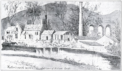 The Fullers Earth Works, Somersetshire Coal Canal and Railway Viaduct, 1898