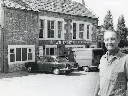 The Dolphin, Locksbrook Road, Bath, 7 August 1975