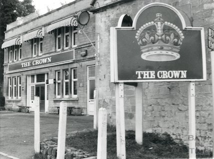 The Crown, Bathford, February, 1976