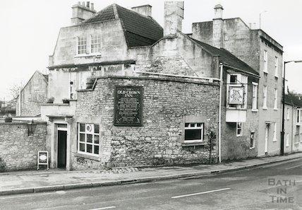 The Old Crown Inn, Upper Weston, 1989