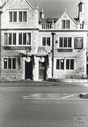 Crown Inn, Bathwick, 1989