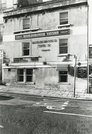 Marlborough Tavern, Marlborough Buildings,1989