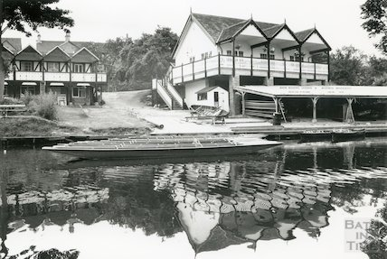 Bath Boating Station and Boatman Restaurant, Bathwick, 1992