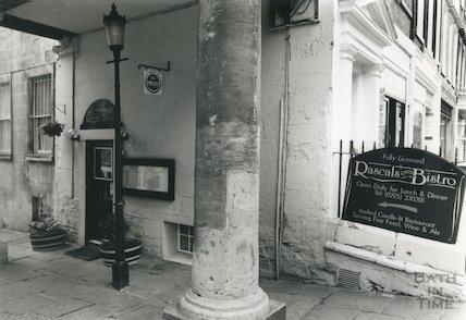 Rascals Restaurant, Pierrepont Place, Pierrepont Street, Bath 1993