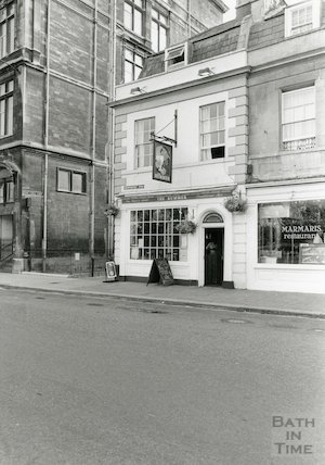 The Rummer and Marmaris Restaurant, Newmarket Row, Bath 1994