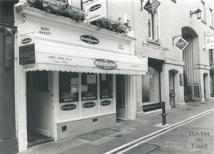 The Rickenbacker Food Company, Upper Borough Walls, Bath 1993