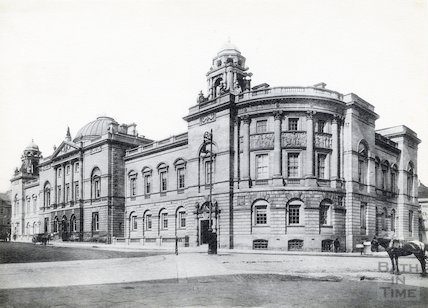Guildhall - exterior from the South West, c.1910