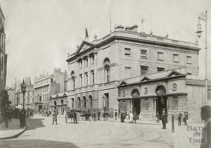Guildhall - exterior from the South West, c.1885