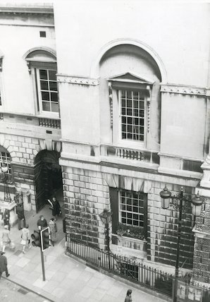 Guildhall front elevation and main entrance, c.1980s