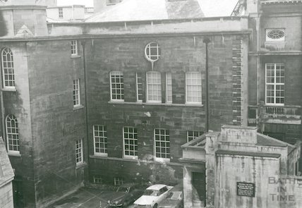 Guildhall rear elevation, c.1980s