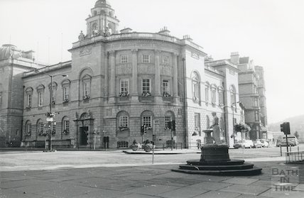 Guildhall, High Street,  September, 1986