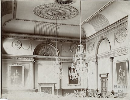 Banqueting room, Guildhall, Bath c.1903