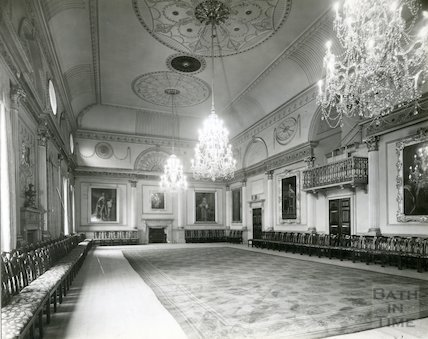 The Guildhall Banqueting Room, c.1950s?