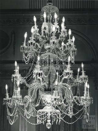 Guildhall Banqueting Room chandelier, c.1960s