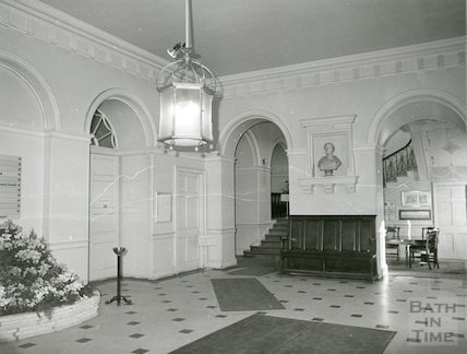 Guildhall entrance hall January, 1982