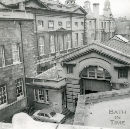 Guildhall Magistrate's Court - rear entrance for coroners, c.1970s