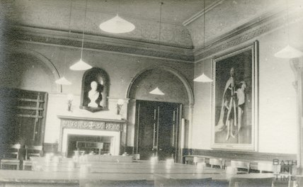 Guildhall banqueting room annexe, 1911