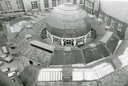 Guildhall Market roof, c.1980s?