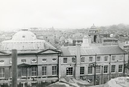 Guildhall exterior rear elevation, c.1980s