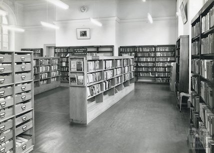 Bath Municipal Lending Library, Bridge Street, 1960