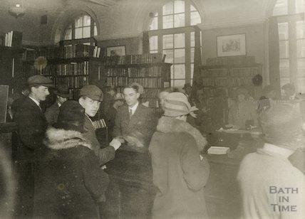 Bath Municipal Lending Library, Bridge Street, c.1930s