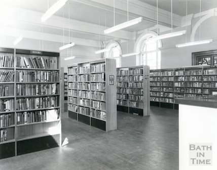 Bath Municipal Lending Library, Bridge Street, c.1980s