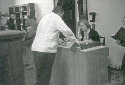 Bath Municipal Lending Library, Bridge Street, c.1950s