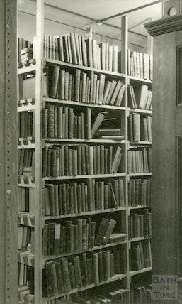 Bath Municipal Lending Library, Bridge Street, 1954