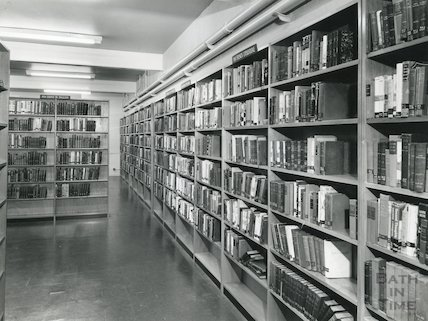 Bath Lending Library, Bridge Street - lower ground floor, 1965