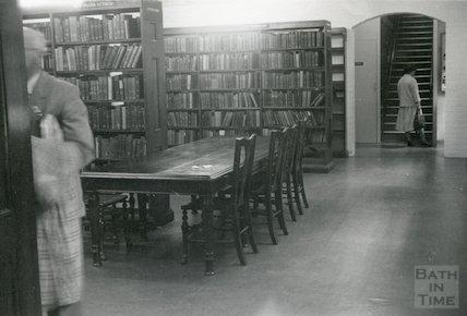 Bath Lending Library, Bridge Street,  basement, c.1950s