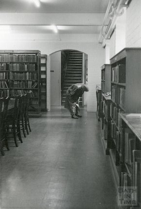 Bath Lending Library, Bridge Street,  basement, c.1950s