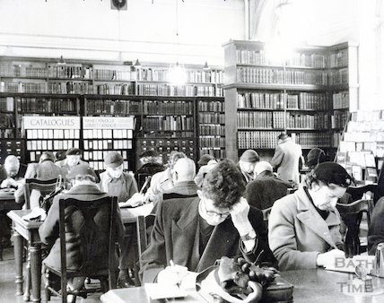 Bath Reference Library, Bridge Street, c.1950s