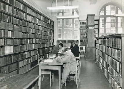 Bath Reference Library, Bridge Street, 1960