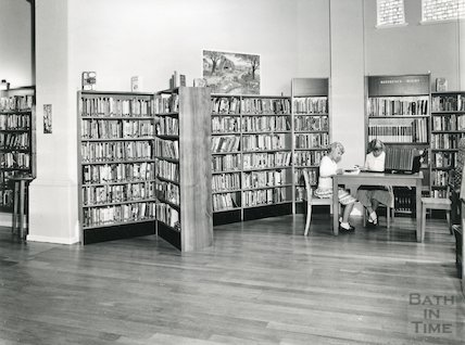 Junior Library, Bridge Street, 1966