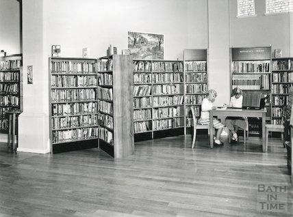 Junior Library, Bridge Street, 1966