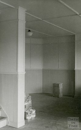 Junior Library before conversion, New Market Row, 1955
