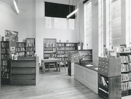 Junior Library, Bridge Street, June 1965