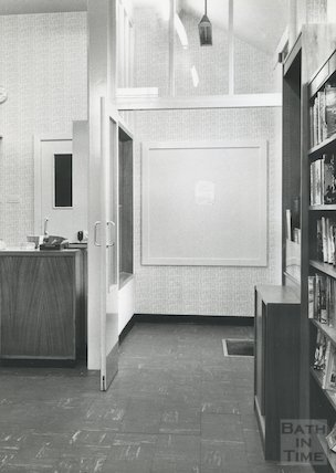 Display Board, Moorland Road Branch Library, 1962