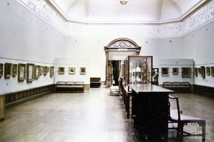 The Victoria Art Gallery, Bridge Street, Bath, 1966